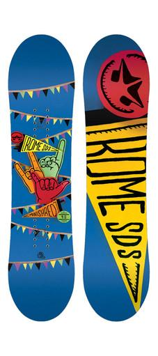 Kid's Rome Snowboard Package